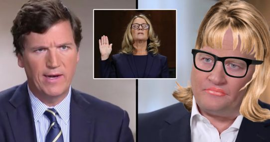Media Accidentally Covers Bobulinski's Claims After He Dresses Up As Christine Blasey Ford