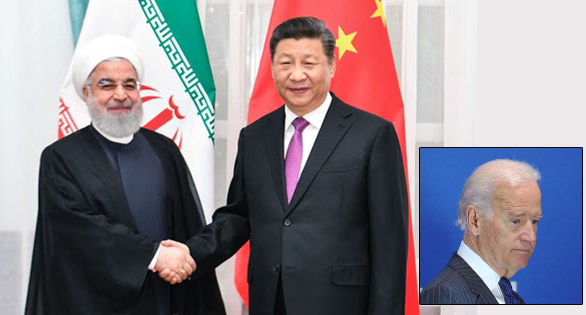 China And Iran Strike Historic Agreement On Who Gets To Blackmail Joe Biden First