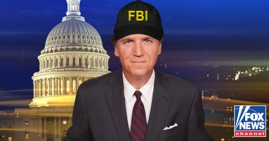 Tucker Carlson Asked To Do All FBI Work Moving Forward