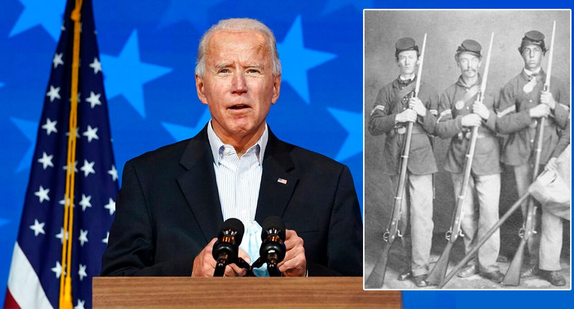 Joe Biden: 'Civil War Vets Have Given Me A Mandate!'