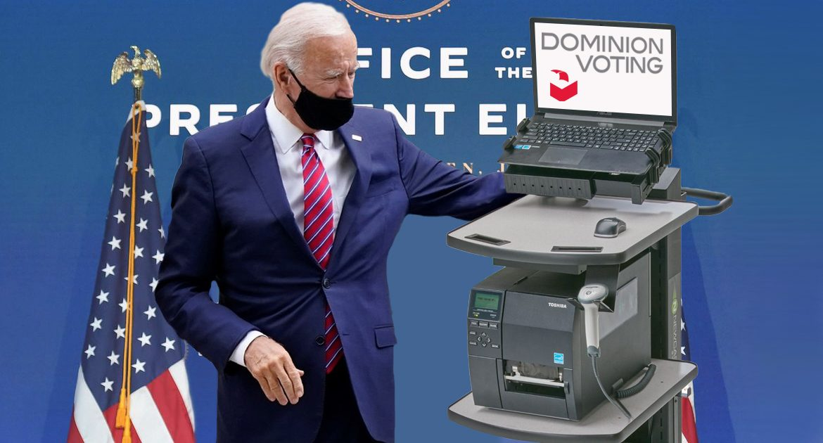 Joe Biden Appoints Dominion Voting Machines To Handle All Metrics For His Presidency