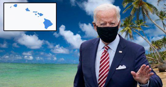 Internal Polling Suggests Biden Make Quick Stop In Hawaii