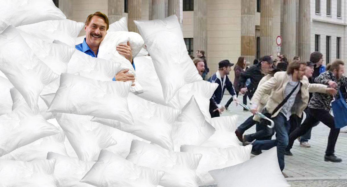 As Fox News Viewership Dries Up, Nation Becomes Overrun With Unsold My Pillows