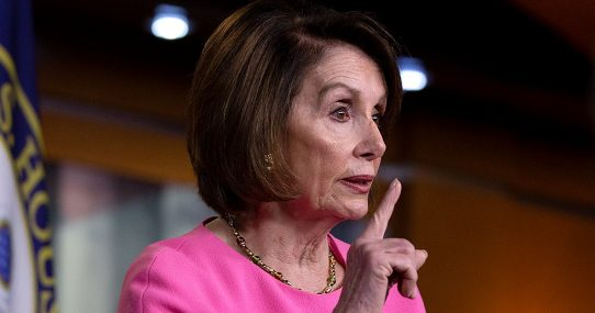 Nancy Pelosi Demands Her Vaccine 'Dirty, Two Olives'