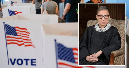 Op-Ed: 2020 Election Results Show No Irregularities, By Ruth Bader Ginsburg