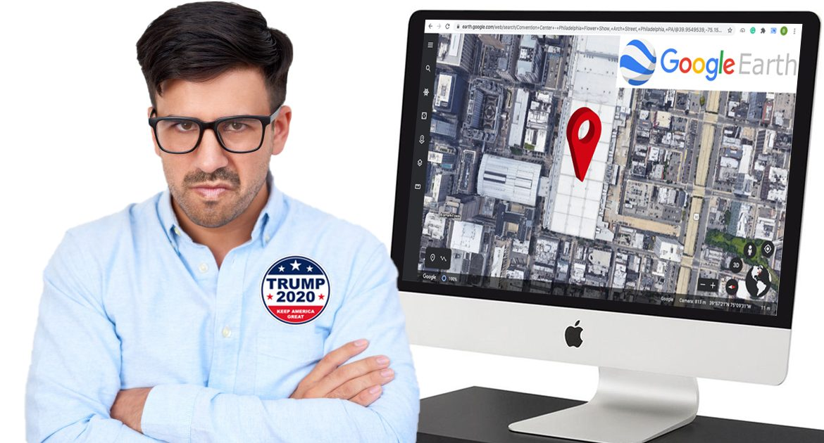 Philadelphia Election Officials: Poll Watchers Were Able To Watch Via Google Earth