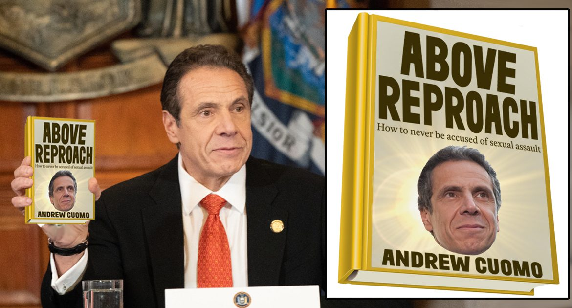 Andrew Cuomo Releases Book On How To Avoid Sexually Abusing Your Staff