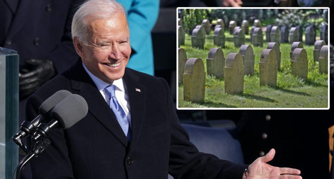 Biden Throws Party As Hundreds Die Of COVID On His Watch