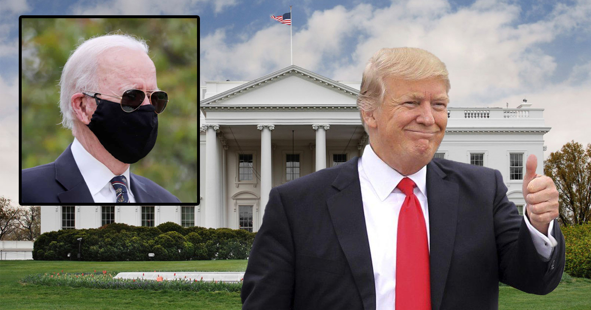 Trump Reclaims White House Using Eminent Domain