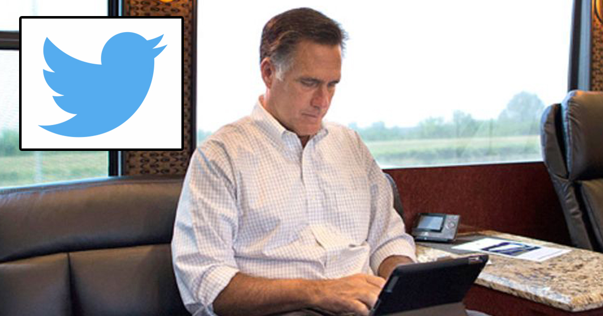 Twitter Gives Mitt Romney All The Followers