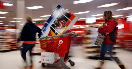 Target Introduces 'Democrat Only' Self-Checkout Line Where They Just Run Out Without Paying