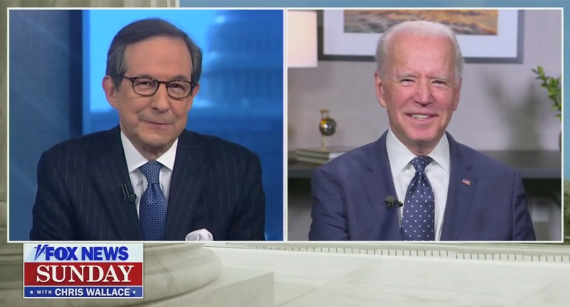 Chris Wallace Grills Biden: 'Did It Hurt, Sir?  When You Fell From Heaven?'