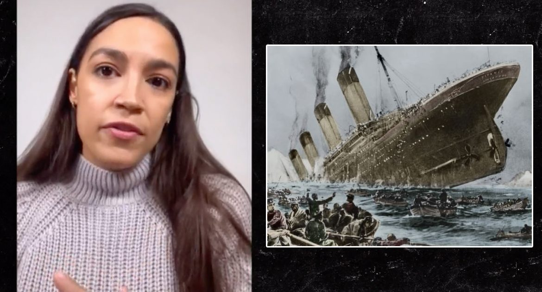 AOC Recounts Surviving Titanic On Instagram Live