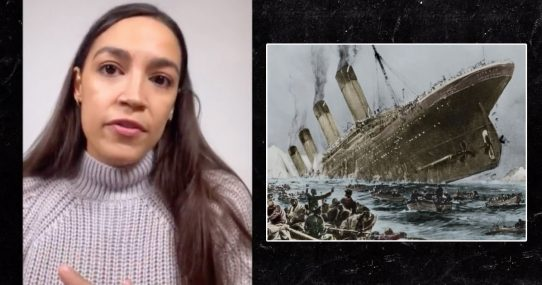 AOC Recounts Surviving Titanic On Instagram Live