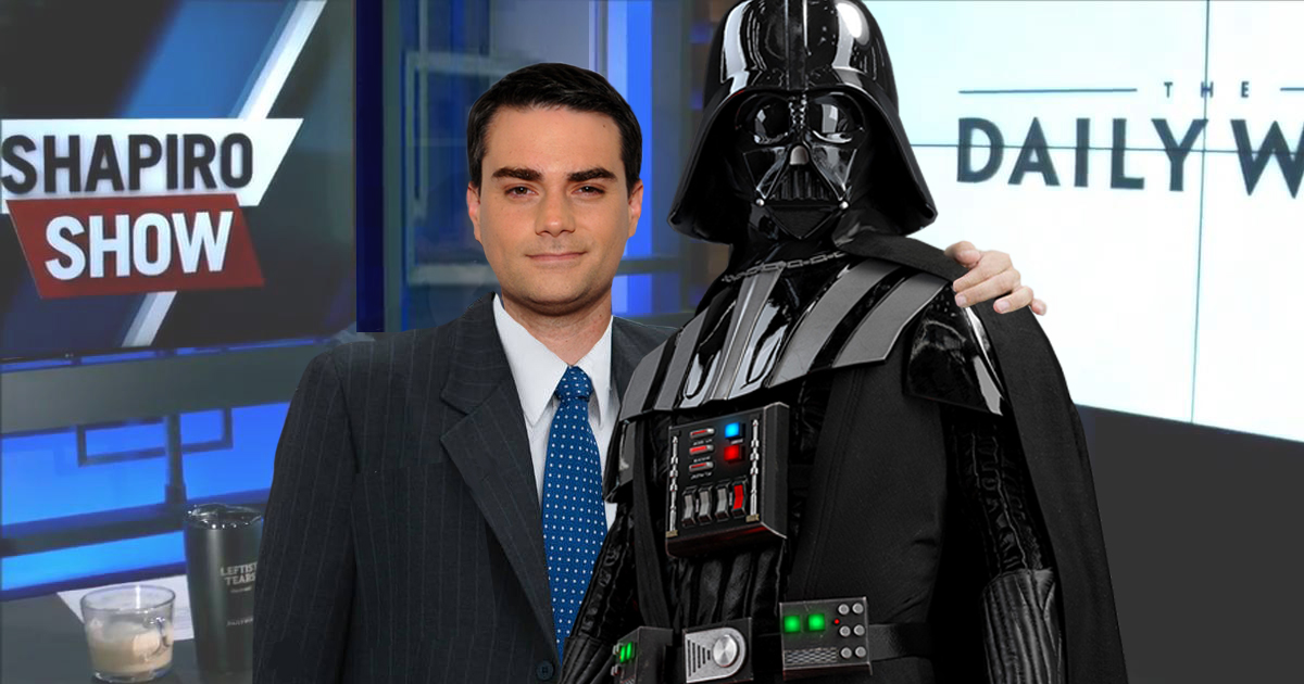Darth Vader To Join The Daily Wire