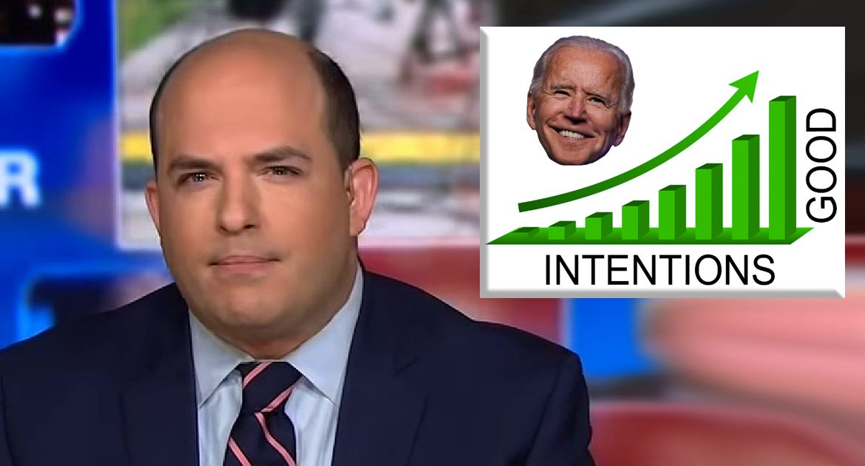 CNN: Joe Biden's Intentions Reach Historic Levels Of Good
