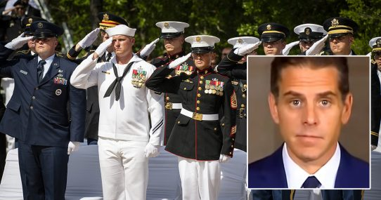 All Branches Of Military Reassigned To Keep Hunter Biden From Breaking Laws