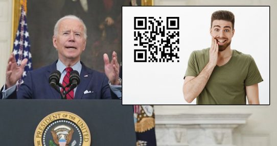 Biden Administration Developing 'Passport' For People Allowed To Touch Their Face