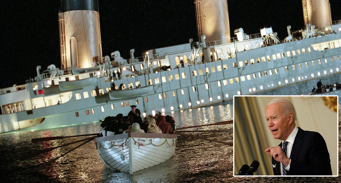 'Women And Children First' Replaced With 'Men and Beta Males First' In Titanic Remake