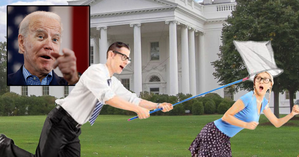 Biden Admin Implements Catch And Release For Reporters Who Try To Ask Him Questions