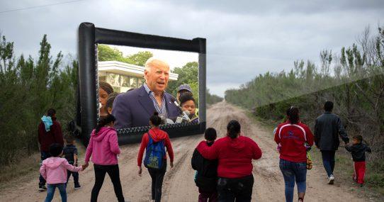Footage Of Joe Biden Talking About Kids Touching His Leg Hair Used To Slow Migrant Surge