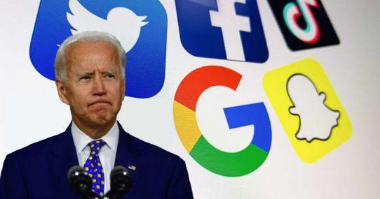 Big Tech Censors Joe Biden After He Admits He's Unsure If He's President