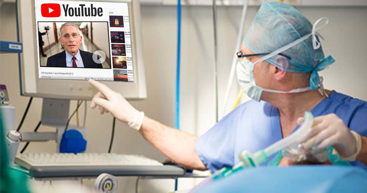 Doctors Now Required To Make Sure YouTube Okays Every Step Of Surgery