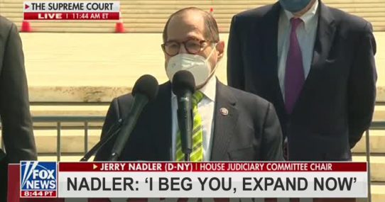 Jerry Nadler Introduces Bill To Expand His Pants