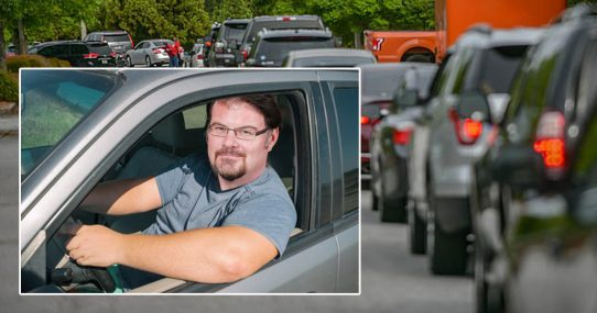 Long Gas Lines Give Jonah Goldberg Extra Time To Complain About Trump's Mean Tweets