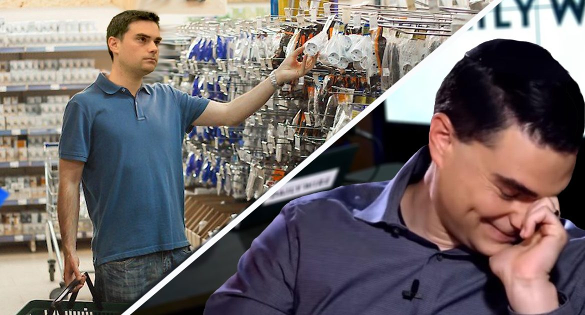 Embarrassing: Ben Shapiro Goes All Day With His White Privilege Hanging Out