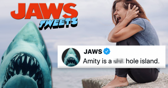 Jaws Remake Aims To Terrify Americans By Having The Shark Fire Off Mean Tweets