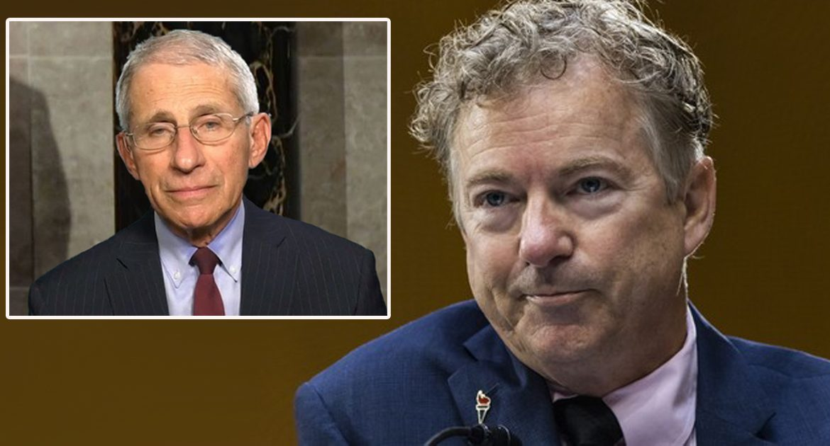 New Emails Reveal Rand Paul To Be Anthony Fauci's Biological Father