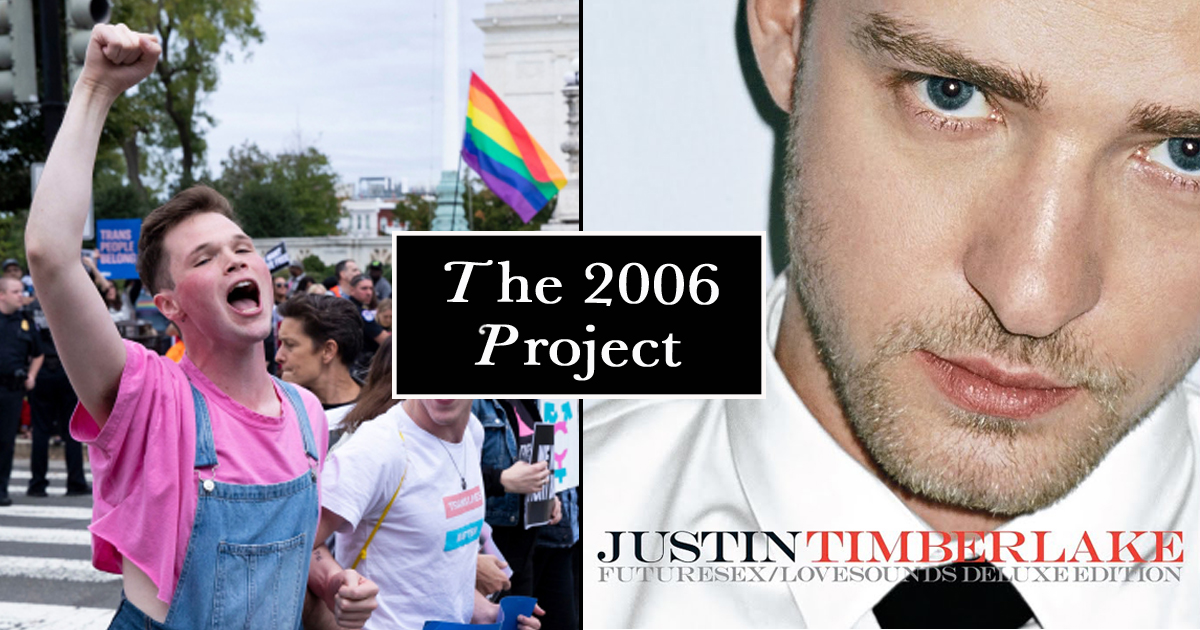 LGBT Community Launches 'The 2006 Project' Citing America Really Began When Justin Brought Sexy Back