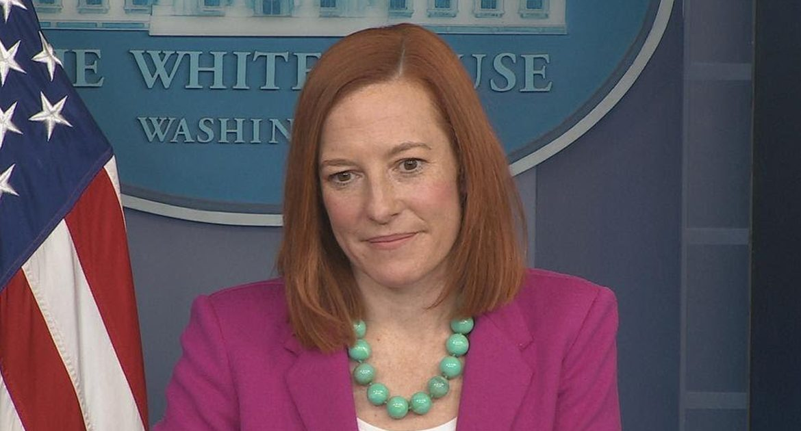 """""""Now Is Not The Time For Questions,"""" Jen Psaki Reminds White House Press Corps"""