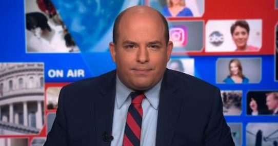 """""""I Was Spied On, Too!"""" Brian Stelter Yells After Someone Watched His Show"""
