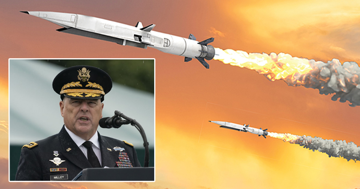 Top Military Officials 'Pretty Sure' Objects Flying Towards US Is White Supremacy
