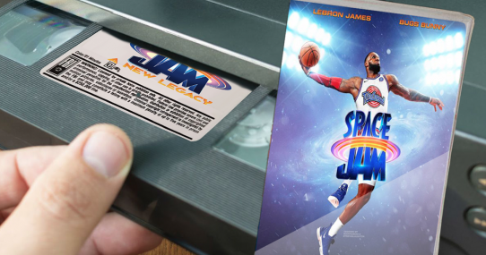 LeBron James' Space Jam 2 Goes Straight To VHS