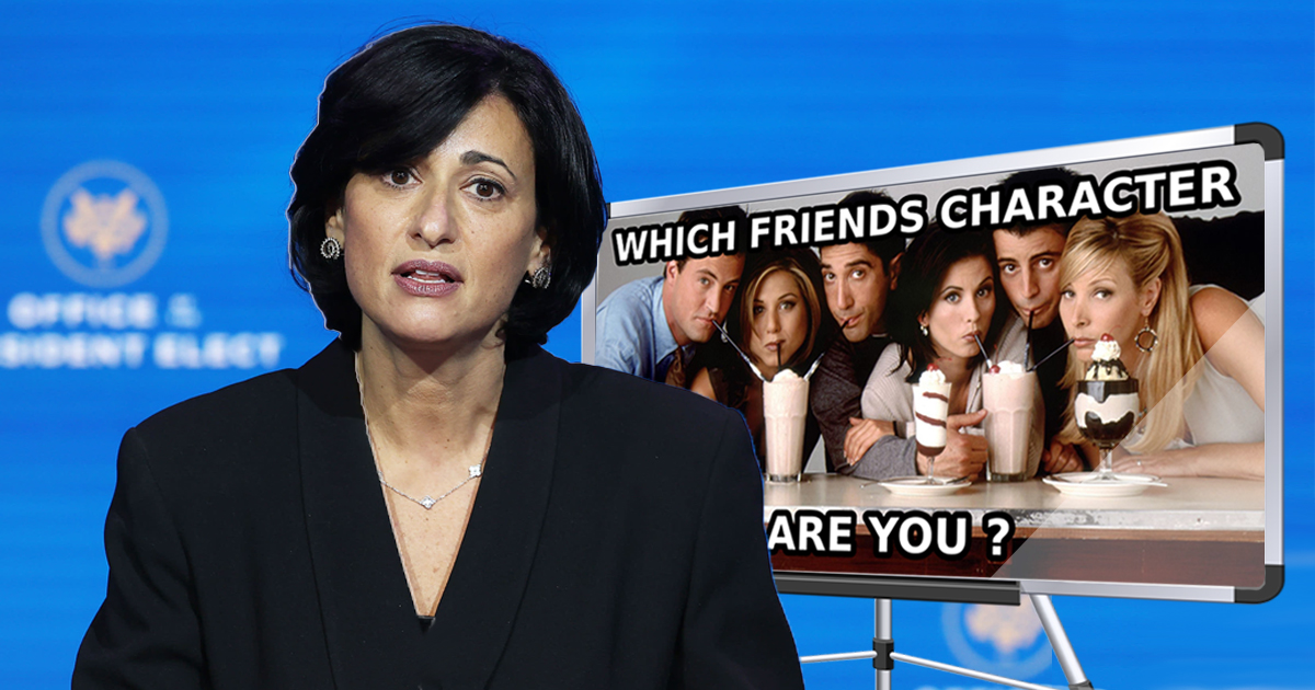 CDC Accidentally Used 'Which Friends Character Are You?' Test To Determine COVID Positivity Rate