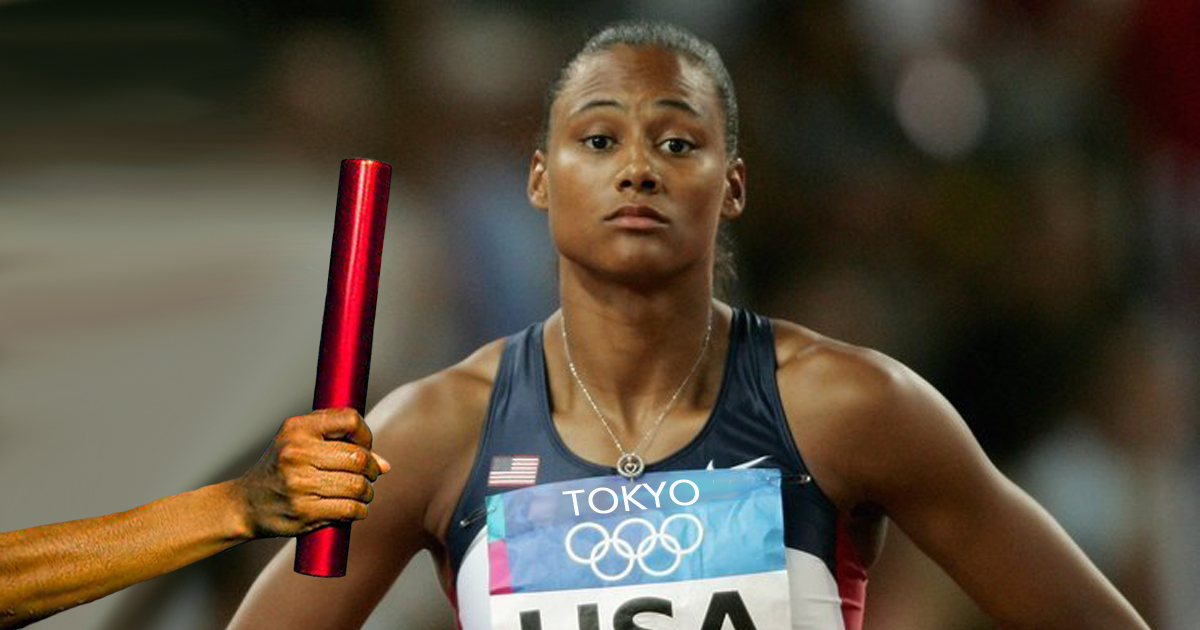 Feminist Sprinter Refuses To Take Baton On The Grounds It Looks Like A Penis
