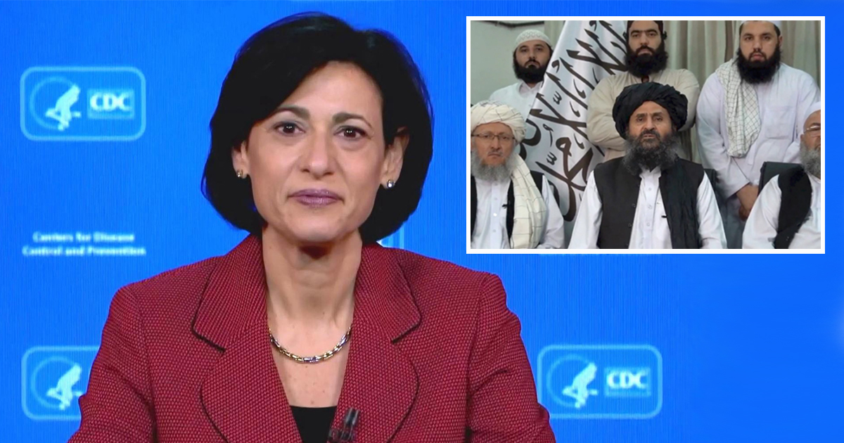 CDC Announces Temporary Moratorium On The Taliban Being Mean