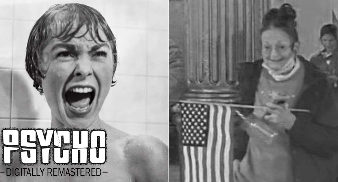 Remake Of Psycho To Digitally Replace Killer With 'Meemaw' From Capitol Hill Riot