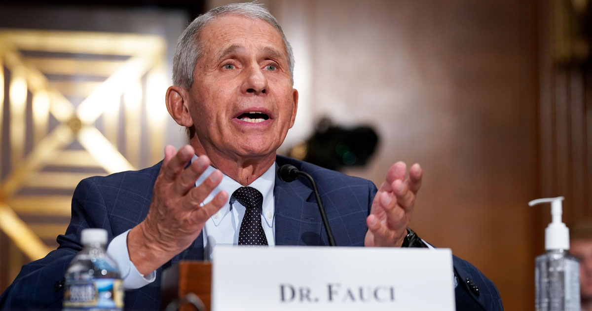 Fauci: Real Vaccination Rollouts Have Never Been Tried