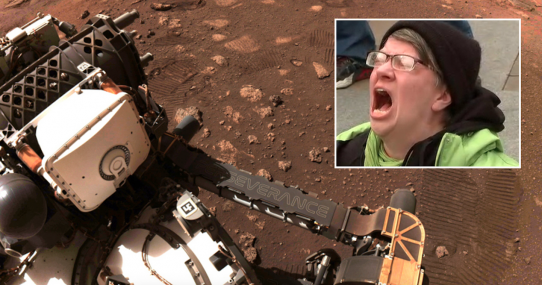 NASA's Mars Rover Finds First Microaggression On Red Planet