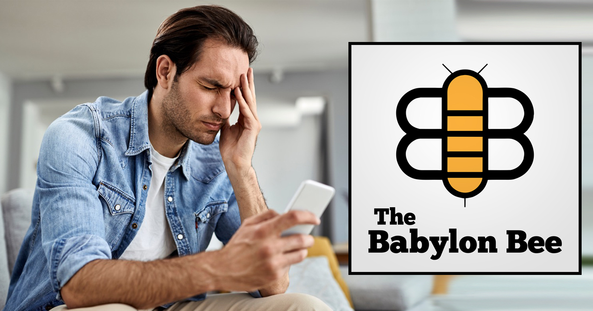 The Babylon Bee To Require Full Vaccinations Before Reading Articles