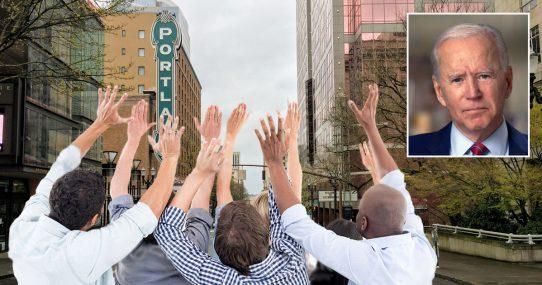 Shameful: Joe Biden Leaves Dozens Of Americans Stranded In Portland