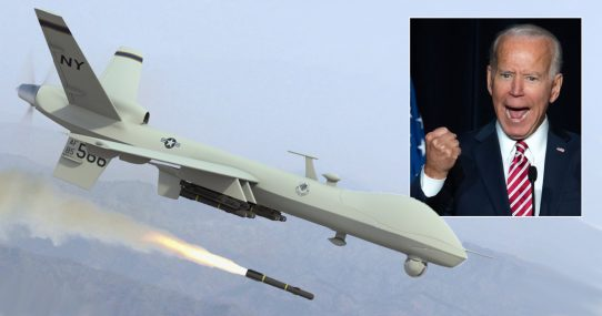 Biden: 'I Don't Care How Many Families I Have To Drone, I Will Look Tough!'