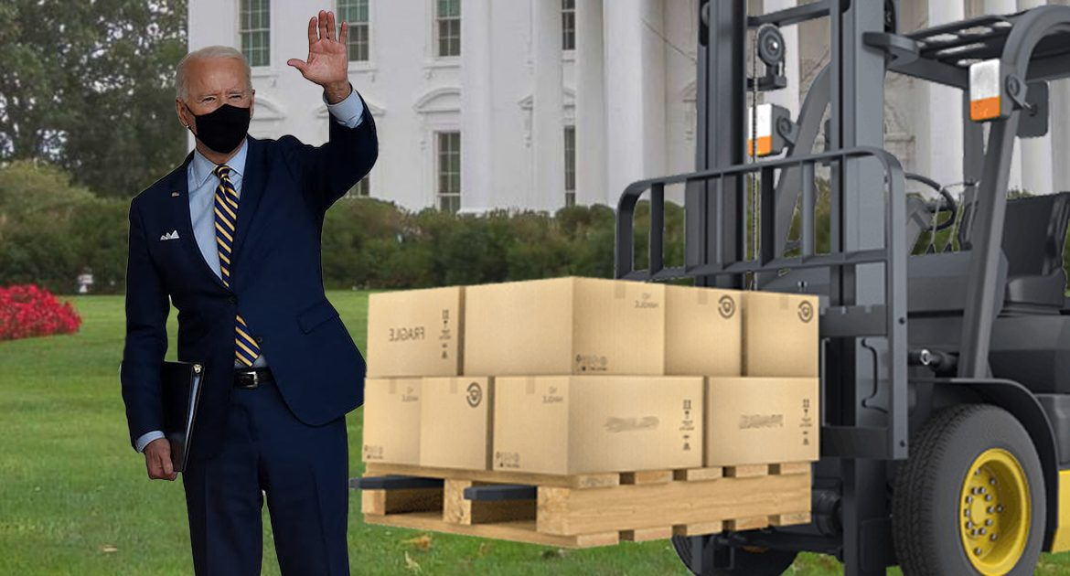 Fresh Shipment Of Adderall To White House Suggests Biden Will Be President Another Week