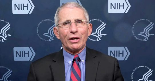 Dr. Fauci Reminds Americans To Wash Their Brains Twice A Day