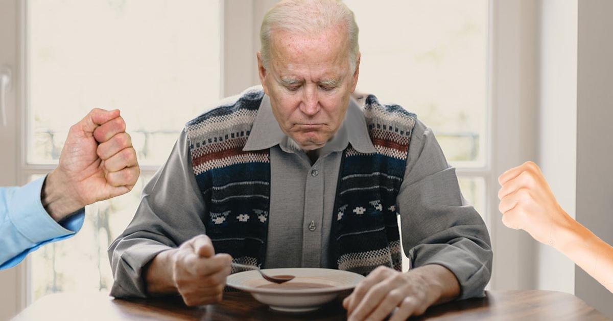'F–k Joe Biden' Chant Breaks Out At Biden Dinner Table