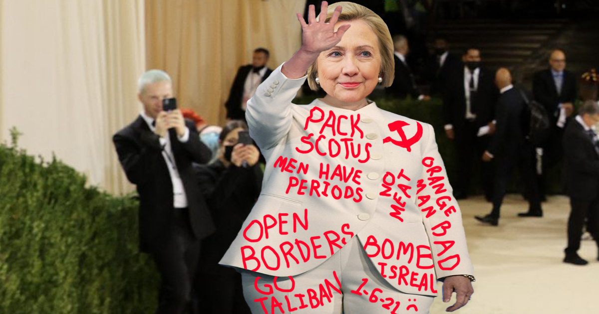 Democrats Thrilled To Learn Hillary's Clothes Can Fit Way More Slogans